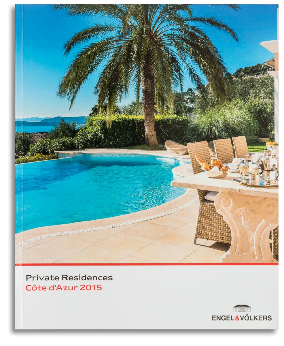 Engel & Völkers advertising campaign on Private Residences magazine 2015