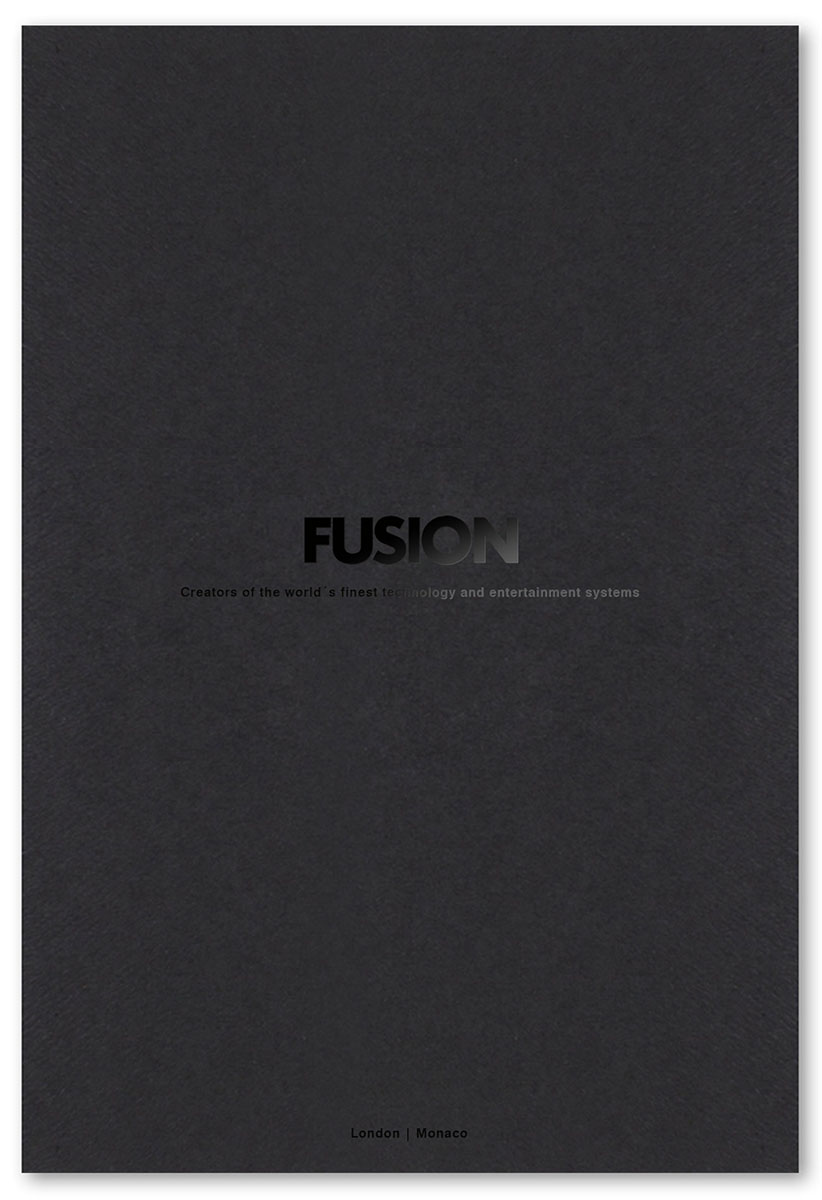 Fusion Auomation stationery design and marketing collateral